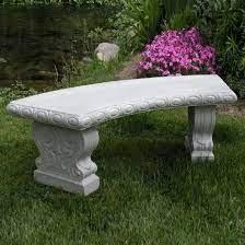 granite resin garden bench diamond