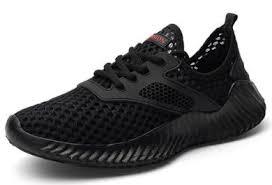 <b>AILADUN Summer</b> Breathable Lightweight Sporty <b>Men</b> Shoes Black ...