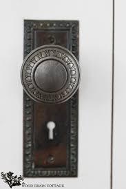 Antique looking door knobs Old Style Adding Character With Vintage Door Knob By The Wood Grain Cottage Foekurandaorg How To Install Vintage Doorknob On New Door