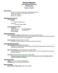 Download My First Resume Haadyaooverbayresort Com
