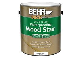 behr deckplus solid color waterproofing wood stain home depot
