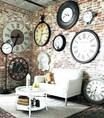 large industrial wall clock industrial wall clock clock decoration ideas big wall decor ideas large decorative