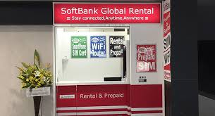 Kansai Airport Sim Card Vending Machine Delectable Airport Store Locations From SoftBank Global Rental