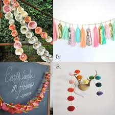 making paper flower garlands ashley thunder events gorgeous garlands that you can make yourself