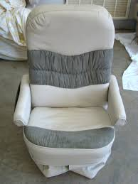 flexsteel motorhome furniture for passenger side leather captain chair used rv parts