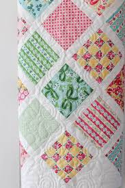 Baby Quilt Patterns Interesting Lattice Baby Quilt Tutorial