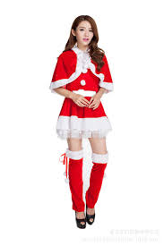 2015 Women Christmas Clothing Outfit Dress Uniforms For Women ...