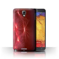 Samsung Note 3 Red Light Stuff4 Case Cover For Samsung Galaxy Note 3 Neo Life Light