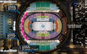 madison square garden seating guide