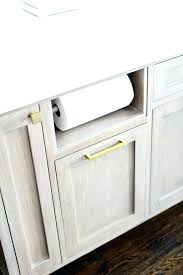 under the counter paper towel holders chef paper towel holder awesome built in paper towel holder