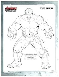 Incredible Hulk Printable Pictures Coloring Pages Free Cupcake