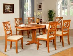 Dining Tables 6 Chair Dining Table Set With Brilliant Kitchen