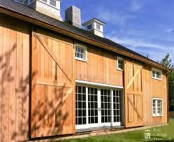 Contemporary Barn Sliding Garage Doors C Inside Decorating