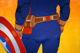 Is Captain Americas Butt Really Americas Ass The Ringer