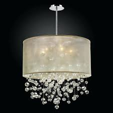 crystal drum light examples contemporary black drum shade crystal chandelier small crystal drum flush light