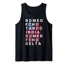 This page transcribes words to and from received english (rp) pronunciation, which is the pronunciation scheme most dictionaries use. Amazon Com Us Army Retired Gift Phonetic Military Alphabet Gift Tank Top Clothing