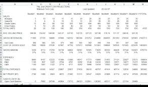 Free Profit And Loss Template Excel Excel Profit And Loss Template Free Free Profit And Loss Spreadsheet