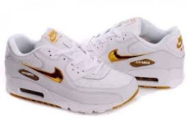 nike shoes white and gold. seamless design men\u0027s nike air max 90 shoes white/gold/yellow trainers white and gold