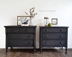 grey painted furniturePainted furniture  Etsy