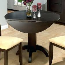double drop leaf table enchanting modern round dining table with leaf in decorating drop leaf table