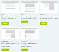emailing list template 900 free responsive email templates to help you start with email