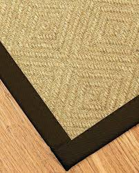 sisal rug with border add to cart a haven fudge clearance 8 x 10 black