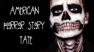 american horror story tate skull makeup tutorial by rosaurus you