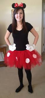 Homemade Disney Costume Ideas Best 25 Homemade Minnie Mouse Costume Ideas On Pinterest