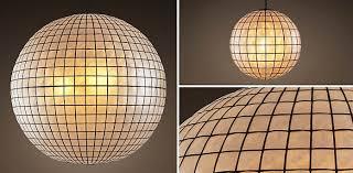 interior capiz shell chandelier collection rh pendant superb 9 capiz shell pendant