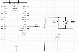 arduino motor wiring diagram arduino image wiring arduino purpose of the diode and capacitor in this motor circuit on arduino motor wiring diagram