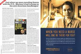 Just when we were mending fences with the U.S., Maclean 'shad to jump on  the anti-American bandwagon' | Maclean's | APR. 24th 2006
