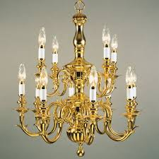 19200 8 flemish 8 light brass chandelier