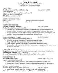 19 Free Electrician Resume Samples Sample Resumes
