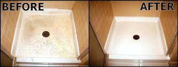 cleaning fiberglass shower stalls clean fiberglass best
