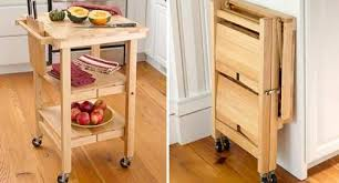 ... Folding Kitchen Tables Small Spaces Photo   5 ...