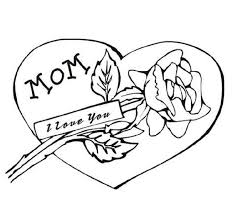 Small Picture I Love You Mom Greeting Card Coloring Pages Coloring Pages