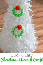 How To Make Easy Christmas Decorations With Children  A Baby On Quick And Easy Christmas Crafts