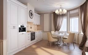 Small Kitchen Diner Neutral Traditional Kitchen Diner Interior Design Ideas