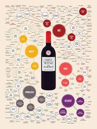 Ng Wine Guide Types Large Poster Print 29x38 Chart Alcohol Wall Art