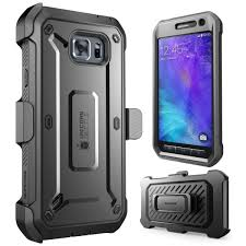 Galaxy S6 Active Unicorn Beetle Pro Full Body Rugged Holster Case with Screen Protector