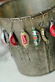 Bottle cap fishing lures {handmade christmas presents for me.
