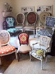 eclectic office furniture. Eclectic Dining Chairs- For A Single Office/desk Chair Maybe? Love These Small Round Table, Four Different Ones. Office Furniture P