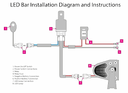 led light bar on off switch relay wiring diagram