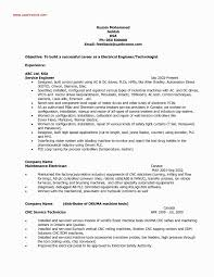 Power Plant Mechanical Engineer Resumes 14 Lovely Power Plant Electrical Engineer Resume Sample