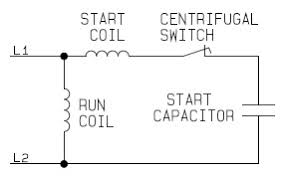 single phase capacitor start and capacitor run electric motor Capacitor Start Motor Wiring Diagram Start Run single phase capacitor start motor circuit AC Motor Wiring Diagram