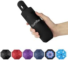 Automatic Travel Umbrella Compact Mini Umbrella ... - Amazon.com
