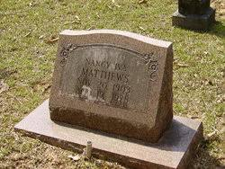 Nancy Iva Webster Matthews (1903-1978) - Find A Grave Memorial