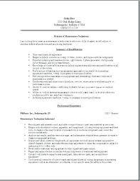 Sample Resume For Building Maintenance Worker Building Maintenance ...