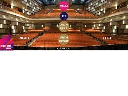 Blumenthal Seating Chart The Knight Theater Seating And Parking Charlotte Ballet