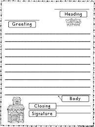 Friendly Letter Format Friendly Letter Format Elementary School Tripevent Co